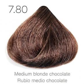 Tinte de pelo Sergilac con Keratina y Argan 7.80 Rubio medio chocolate 120ml