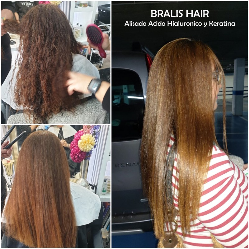 Tratamiento Alisado Acido Hialuronico y Keratina BRALIS HAIR - Paso 2 - 1 litro