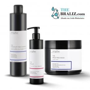 Lote Sergilac - Alisado The Braliz + The Dandruff Free Shampoo + The Frizz Free Mask