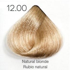 Tinte de pelo Sergilac con Keratina y Argan 12.00 Rubio super aclarante natural intenso 120ml