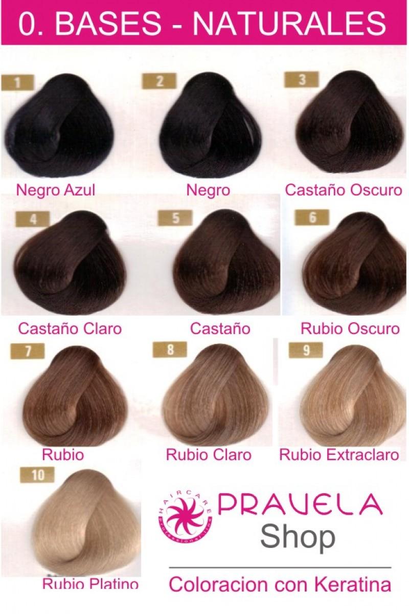 Colores base naturales tinte con keratina sergilac - Bano de color o tinte ...