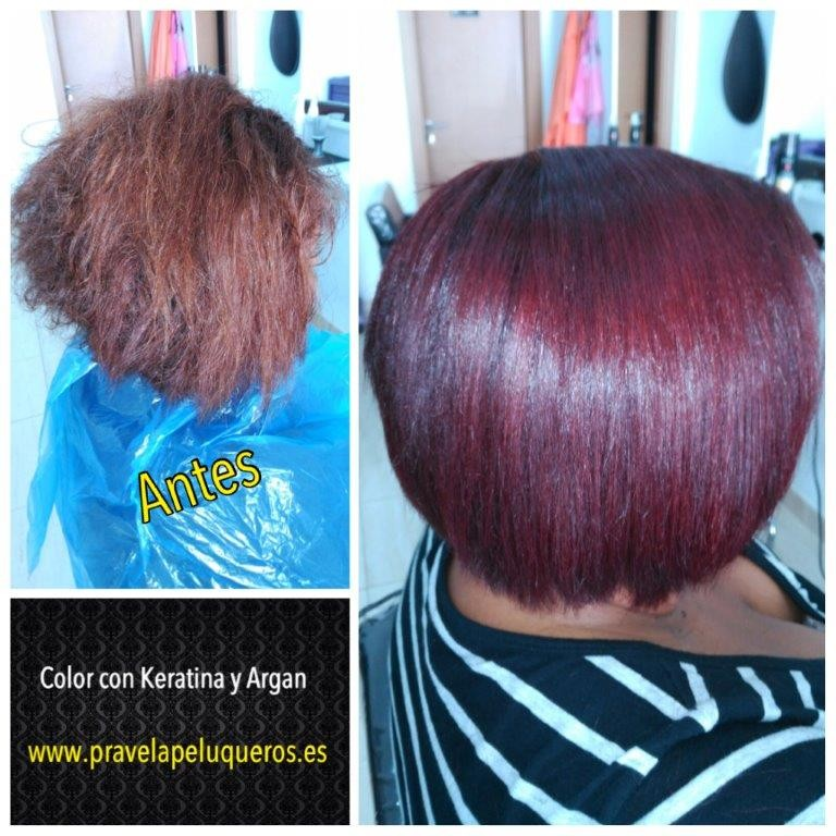 Tinte de pelo Sergilac con Keratina y Argan Red-Violet (rojo-violeta) 120ml