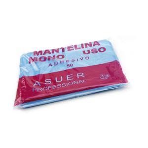 Capa de tinte desechable con cierre adhesivo - Bolsa 50 unidades