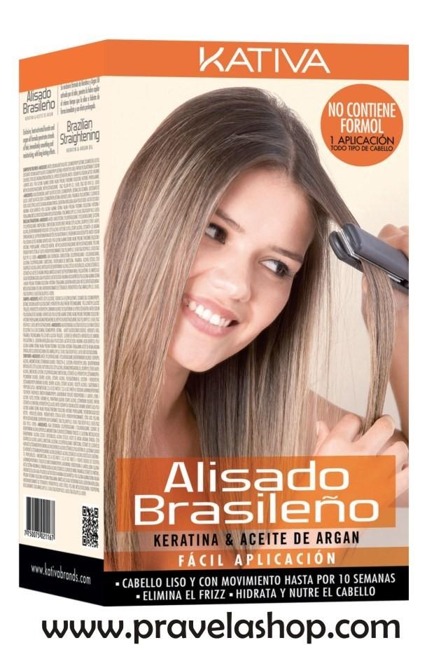 Kativa Tratamiento Alisado Brasileño Keratina-Aceite Argan