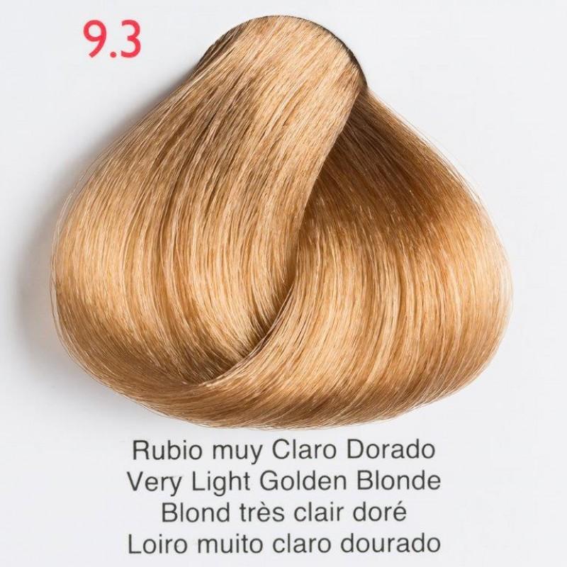 Tinte de pelo Shining Chroma 9.3 Rubio muy Claro Dorado
