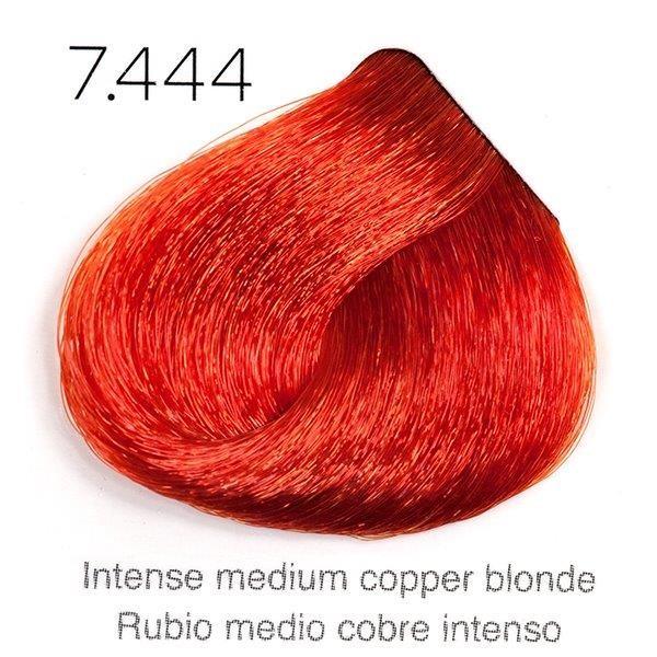 Tinte de pelo Sergilac con Keratina y Argan 7.444 Rubio medio cobre extra intenso 120ml