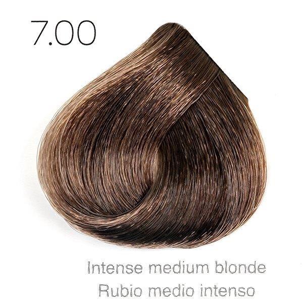 Tinte de pelo Sergilac con Keratina y Argan 7.00 Rubio medio natural intenso 120ml - sin PPD