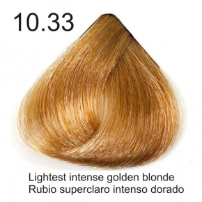 Tinte de pelo Sergilac con Keratina y Argan 10.33 Rubio platino dorado intenso 60ml